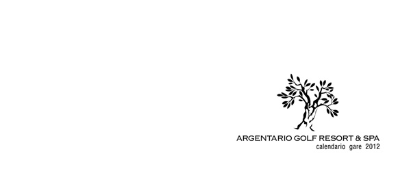 Argentario Golf Club - calendario gare 2012