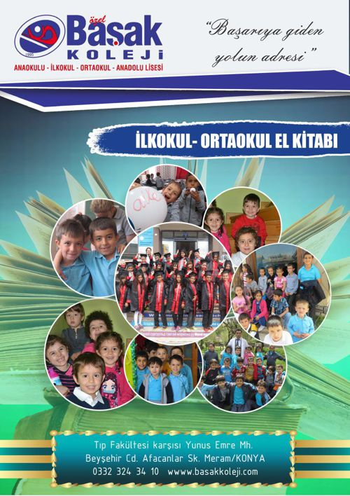 ilkokul ortaokul el kitabı son hali