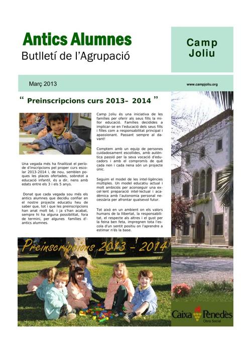 Revista antics alumnes nº6