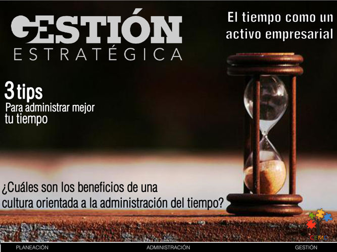 GE21- El tiempo como activo empresarial