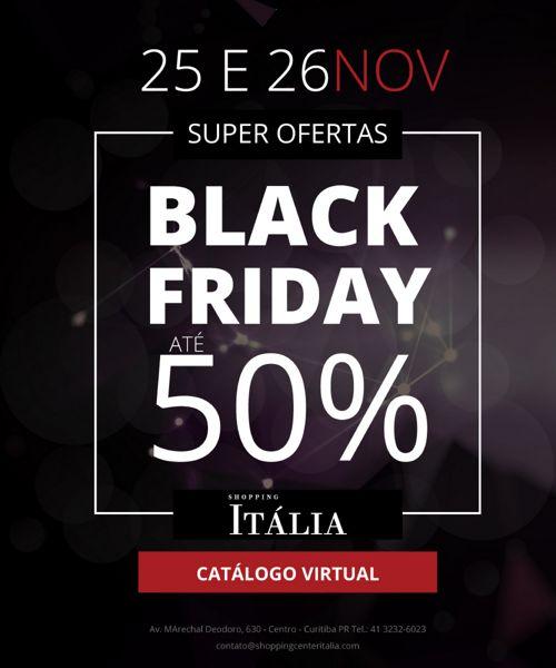 Catálogo Black Friday Shopping Itália