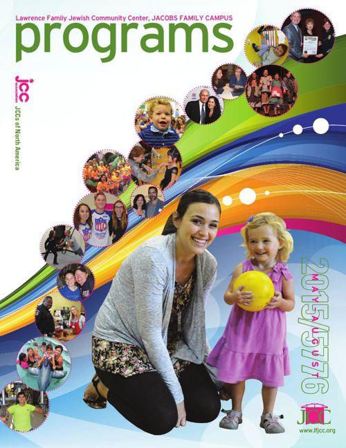 JCC Program Guide May 1 - August 31, 2015