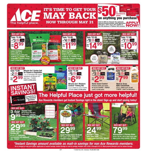 It's time to get your May Back now through May 31st!