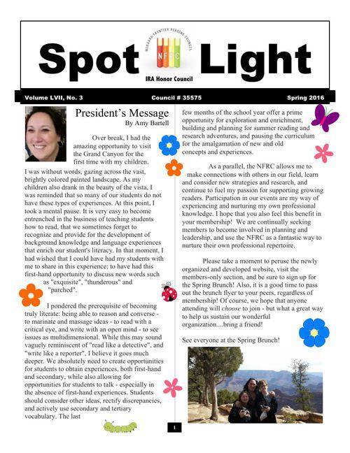 Spotlight Spring 2016