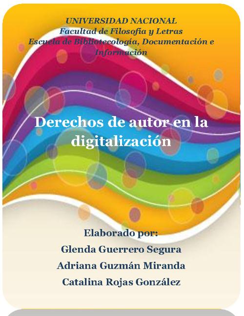Derechos de autor y la digitalización