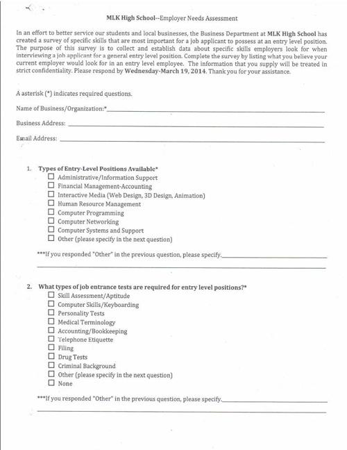 Needs Assessment MLK 2013_2014