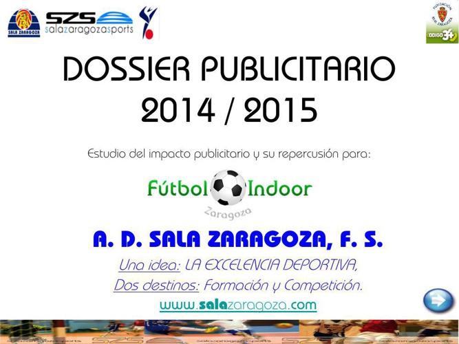 DOSSIER PUBLICITARIO 2014_15 FUTBOLINDOOR