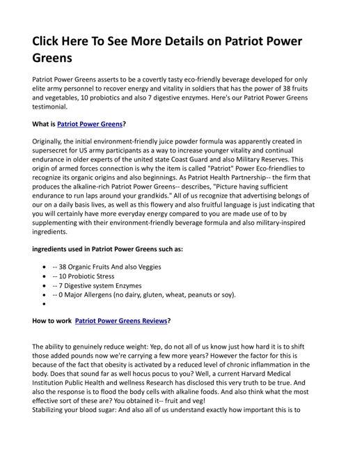 Patriot_Power_Greens_Arts