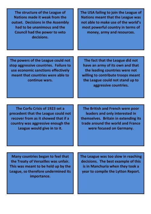 9. Failure Cards