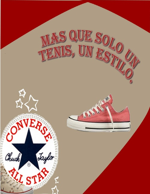 "CATALOGO DE ZAPATOS ""ALL STAR"""