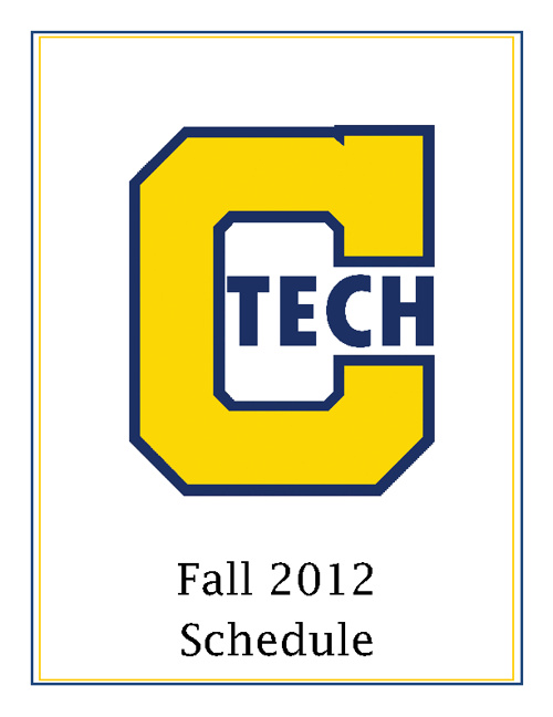 CTech Fall 2012 Schedule