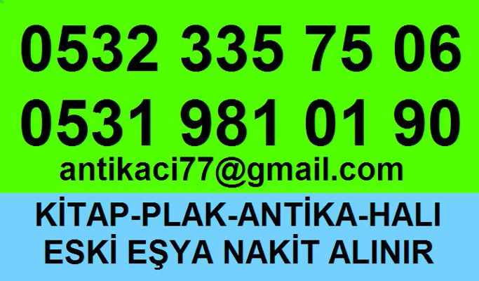 Hacıahmet Beyoğlu antika 0532 335 75 06 antika eşya alanlar
