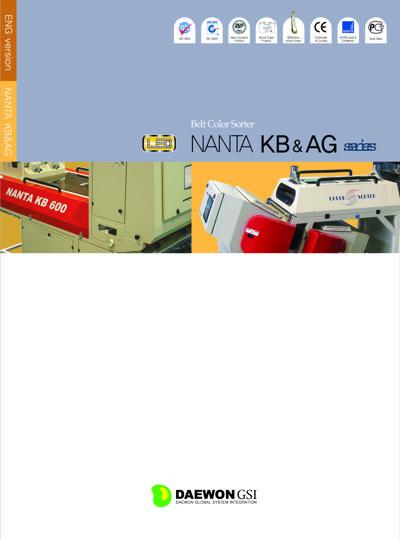 Maquina a Banda Daewon NANTA KB & AG