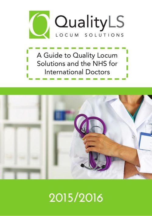 A Guide to Quality Locum Solutions and the NHS