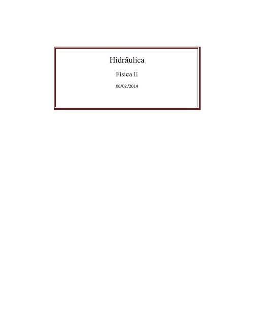(398908930) Hidráulica proyecto