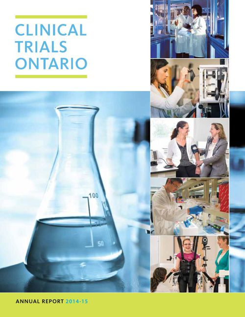 Clinical Trials Ontario Annual Report 2014-15
