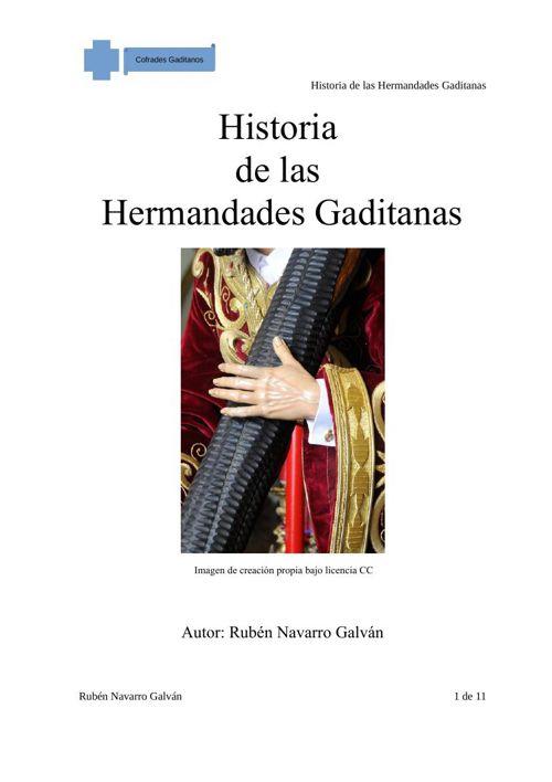 Historia de las Hermandades Gaditanas