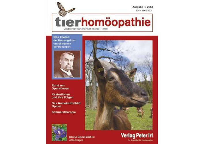 Leseprobe tierhomöopathie I 2013