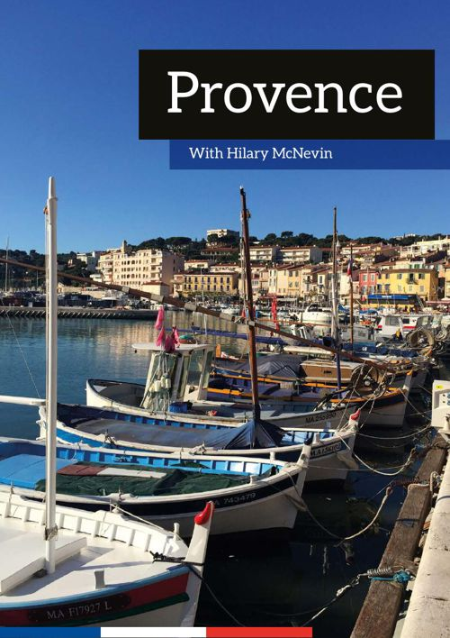 Hilary in Provence Brochure 2015