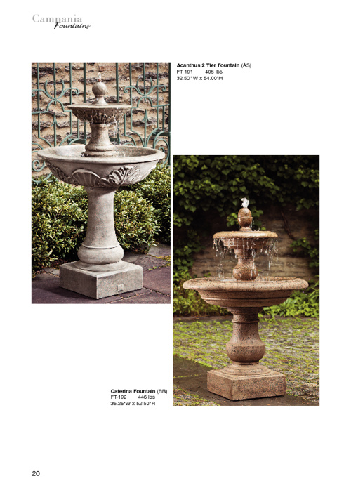 Fountains, Garden Art & More!