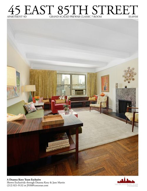 45 East 85th Street, Apartment 9D