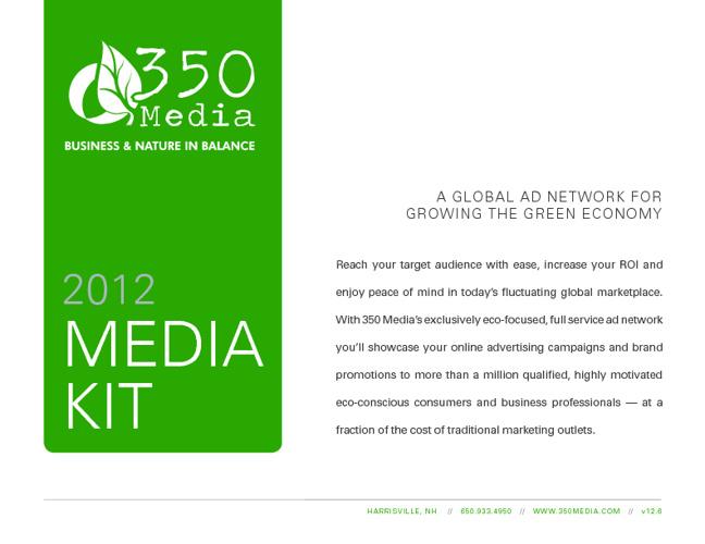 350 Media - 2012 Media Kit