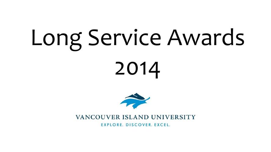 Long Service Awards 2014