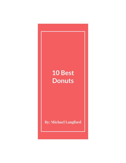 Donuts(1)