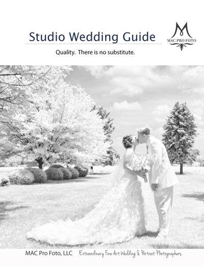 Studio Wedding Guide for MAC Pro Foto, LLC