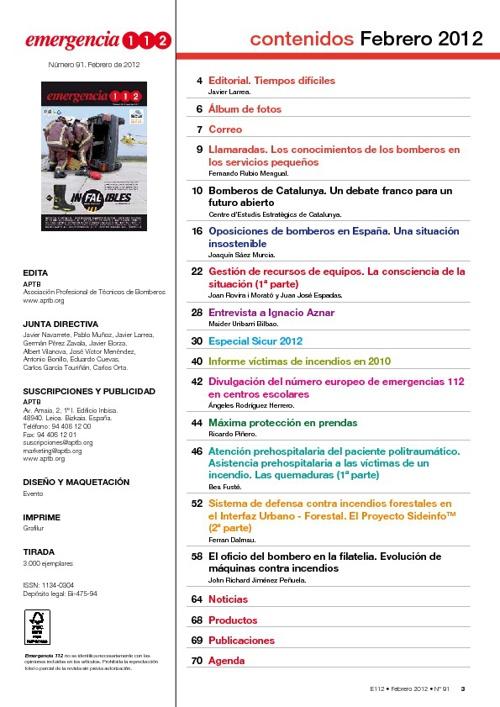 Revista Emergencia 112