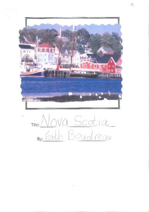 Nova Scotia - Faith 3F