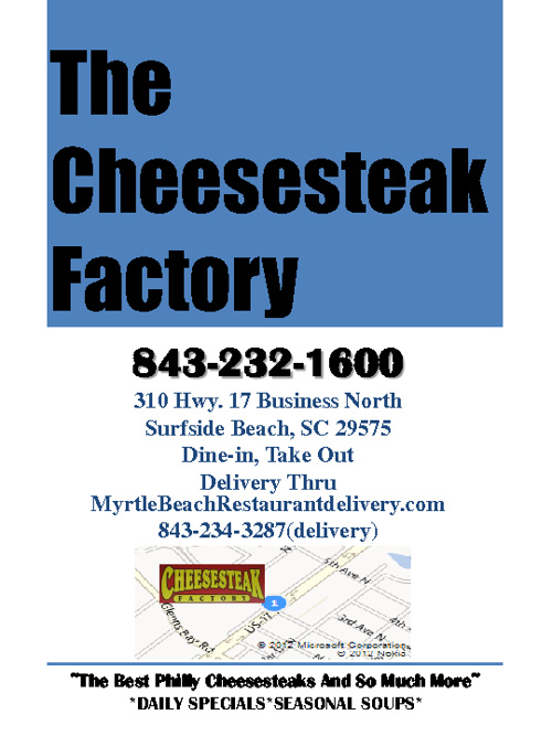 The Cheesesteak Factory Menu