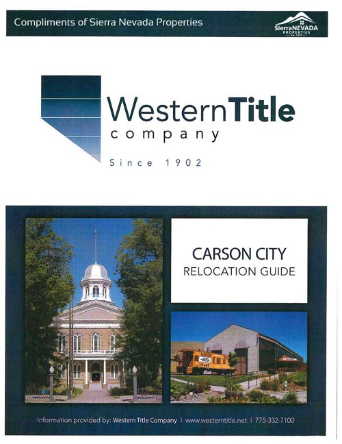 Carson City Relocation Guide