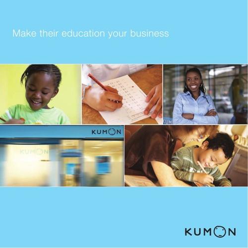 Kumon Franchising Brochure 2014