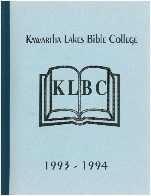 1993 - 1994 Yearbook