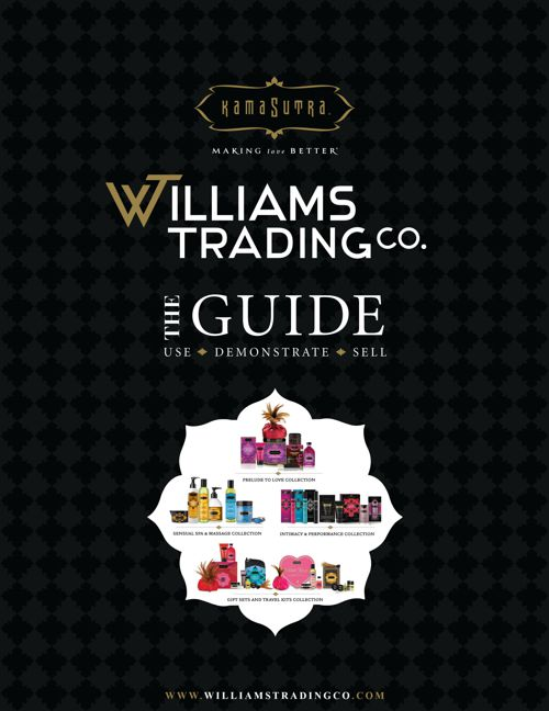 KAMASUTRA GUIDE WILLIAMS TRADING