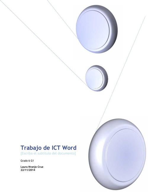 Trabajo de ICT Word
