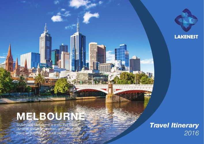 10 days itinerary Melbourne - Lakenest