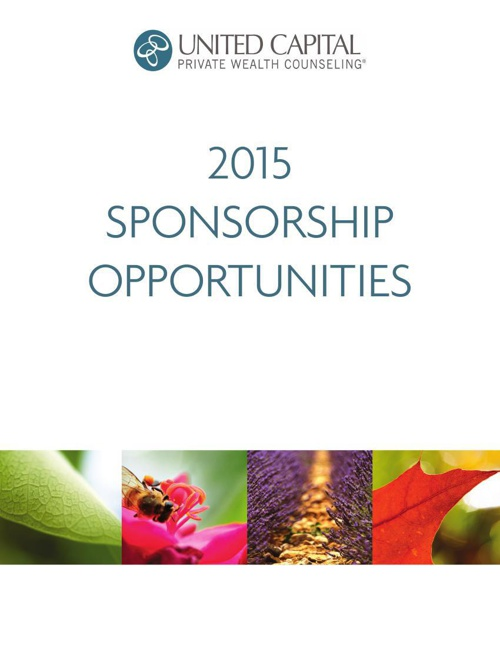 United Capital 2015 Sponsorship Opportunities