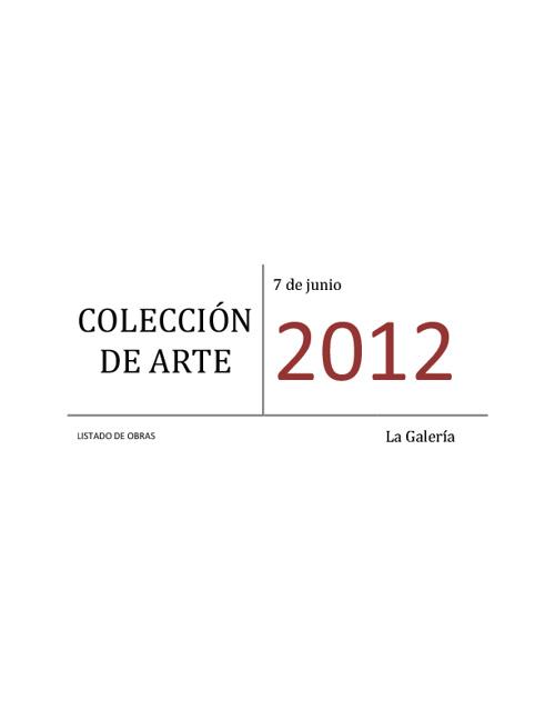 La Galería. Colección de Arte
