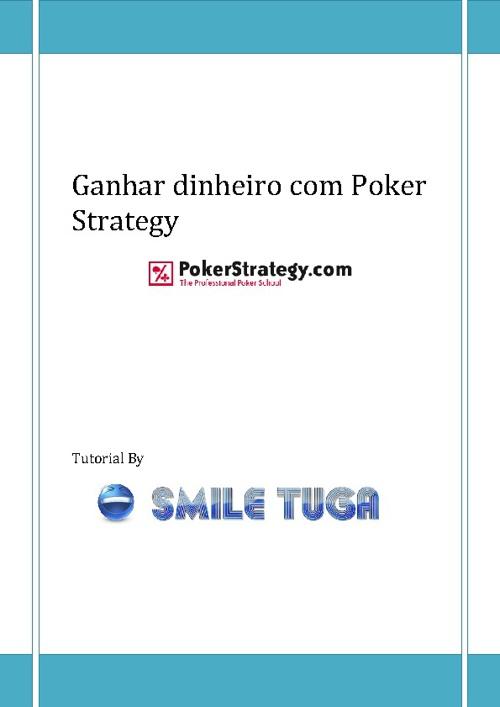 Ganhar dinheiro com Poker Strategy
