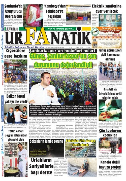17 07 2013 / Urfanatik