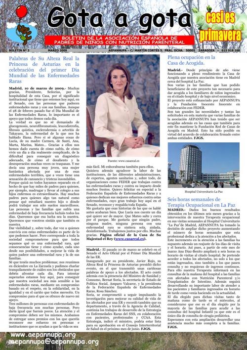 Boletín 3 Marzo 2009