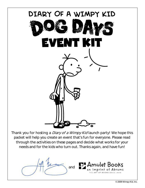 diary of a wimpy kid Book4