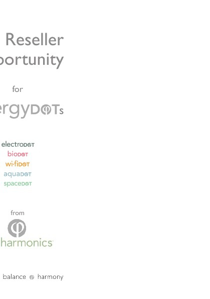energyDOTs - The Reseller Opportunity