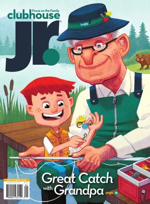 Children Ilustrated Magazine -Videp -Tag -Caption
