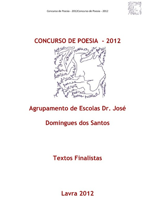 Concurso Poesia - 2012