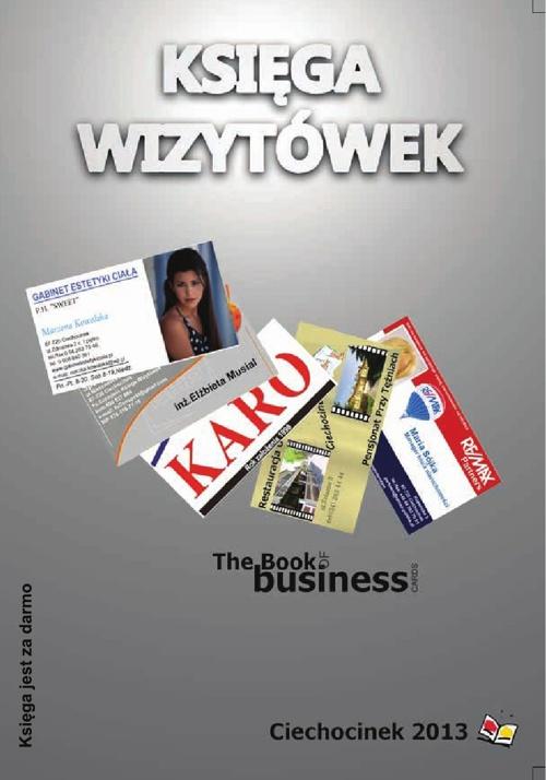 Księga Wizytówek - Ciechocinek 2013