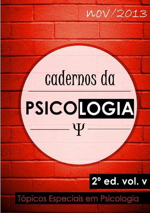 Cadernos da Psicologia (vermelho)