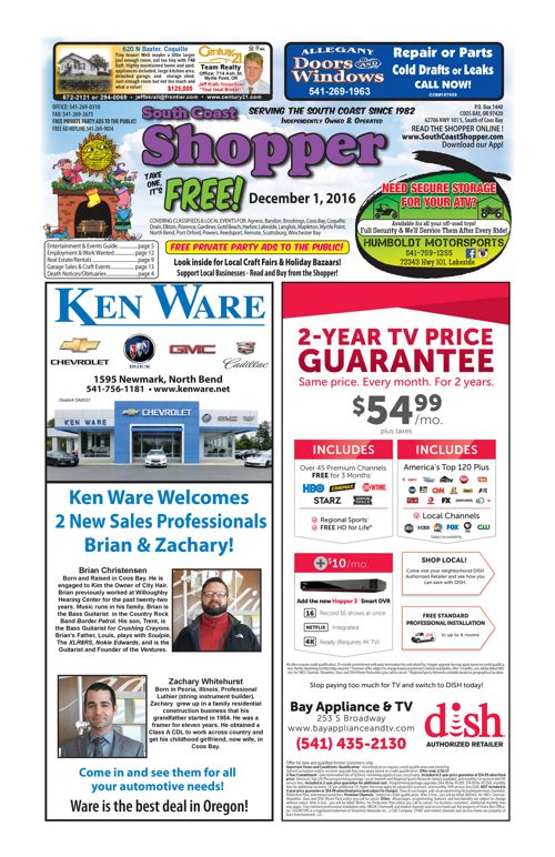 South Coast Shopper e-Edition 12-1-16